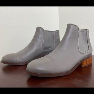 Cole Haan Grand OS Signature Gray ankle boots